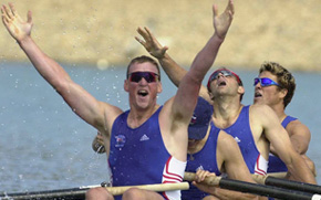 Sir Matthew Pinsent: In the Pond!